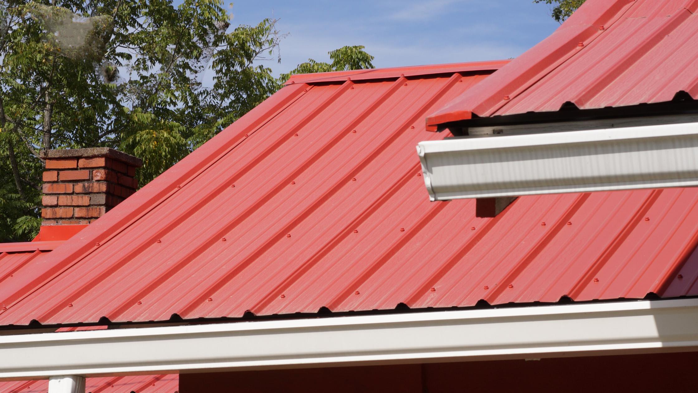 metal roof flashing: installing flashing