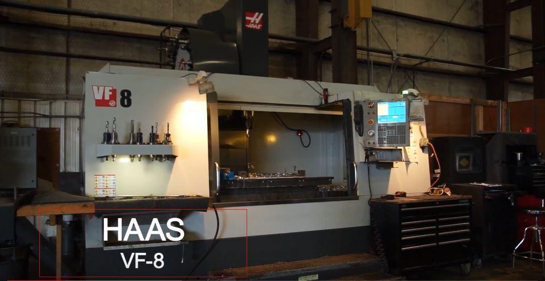 Equipment Spotlight: Haas VF-8 | Kloeckner Metals Corporation