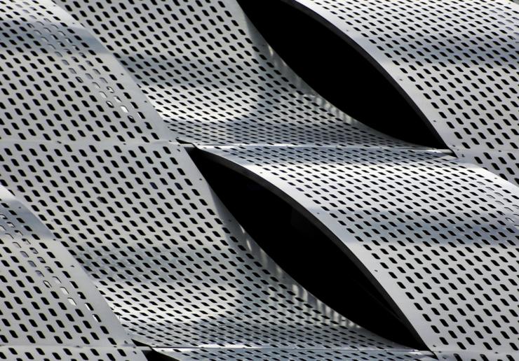 aluminum 5052 perforated panels
