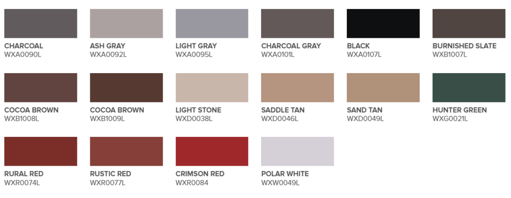 Metal Roofing Colors: Color Toolkit