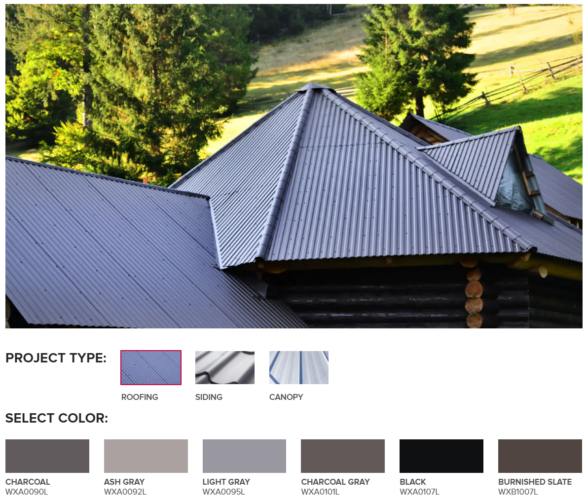 Kloeckner Building Products Portal Color Toolkit
