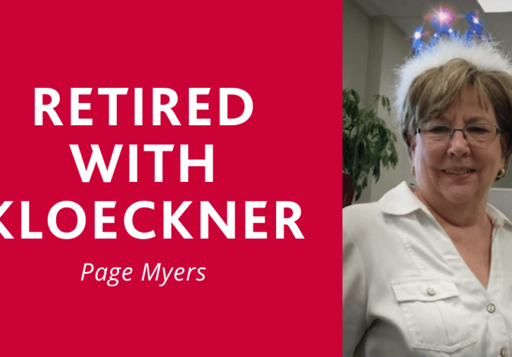 Retired with Kloeckner: Page Myers