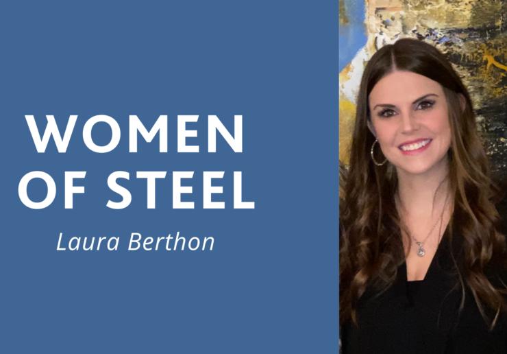 women of steel: laura berthon