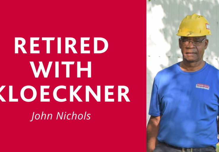 John Nichols Retired with Kloeckner