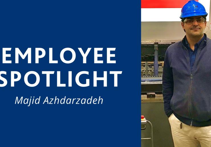 Majid Azhdarzadeh Employee Spotligh